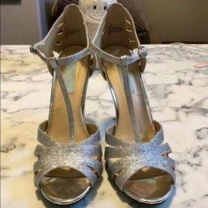 Blue by Betsey Johnson heels